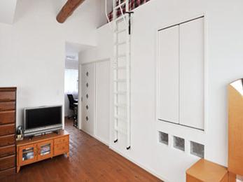 収納もたくさんあり開放感のある素敵なお部屋になって嬉しいです。
