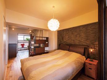 空間を区切ることで収納スペースが増え、満足しています。