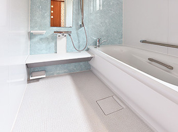浴室が広く快適に