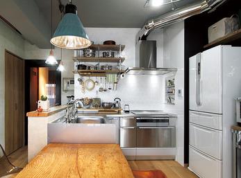 鍋などの調理器具は、「見せる収納」を前提に考えて購入