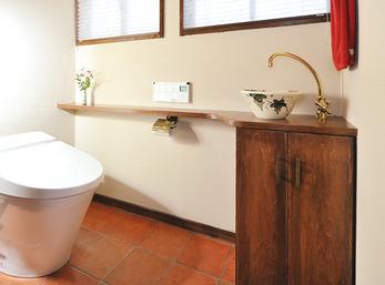 ついつい長居したくなる部屋みたいなトイレ