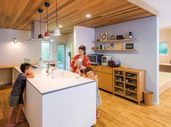 築30年の二世帯住宅が4人で暮らしやすい新築同然の家に劇変
