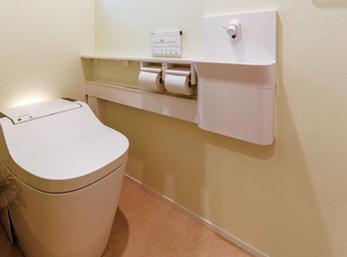 洗浄機能を持つトイレで日常の家事負担を軽減