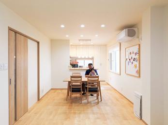 実家の2階を改装して 子世帯が長く暮らせる わが家へリフォーム