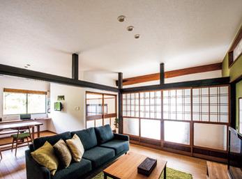 家の歴史をうまく残しつつ 安全で暮らしやすいよう 減築リフォームを実践