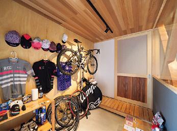 趣味の自転車やサイクル用具を