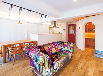 両親から引き継いだマンションをもの作りが楽しめる住空間に