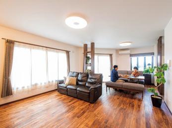 LDKには全て内窓を取り付け、断熱材をしっかり施工