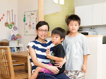 大幅な間取り変更で育児と家事が快適に。家族の絆も一層強くなりました。