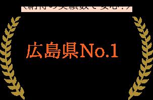 広島県No.1のリフォーム実績があります!